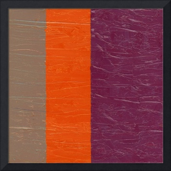 Grey Orange Purple