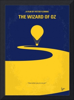 No177 My Wizard of Oz minimal movie poster
