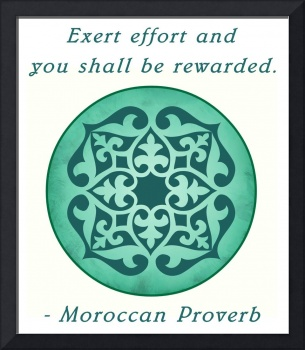 MOROCCAN PROVERB