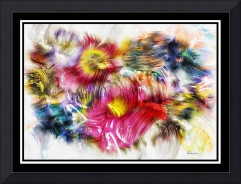 7d Abstract Expressionism Digital Painting