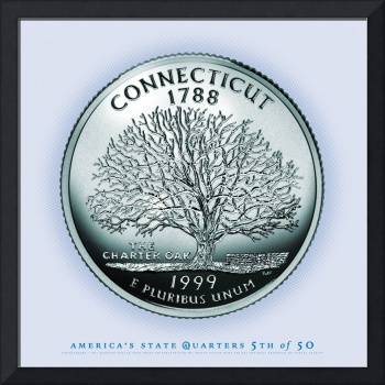 Connecticut State Quarter - Portrait Coin 05