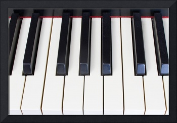 Piano Keys Horizontal