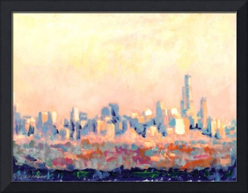 Chicago Skyline by RD Riccoboni