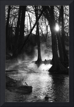 Sunrise on the River: Fog and Light 2