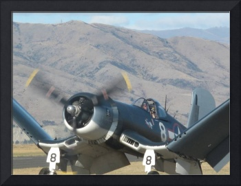 Corsair F4U Warbirds Over Wanaka 2010 New Zealand