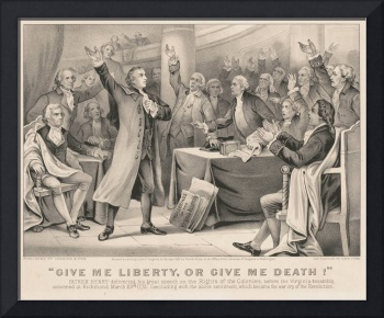 Patrick Henry Liberty or Death Speech Illustration