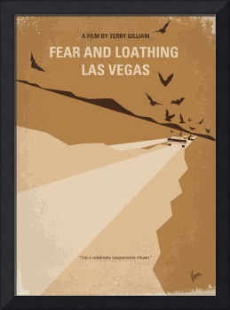 No293 My Fear and loathing Las vegas minimal movie