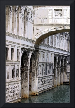 Bridge of Sighs watercolour