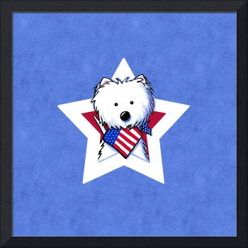 Star Speckled Westie