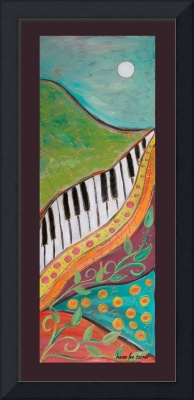 Lyrical Colors PANELS-Mountain music-Karen Lee Tur