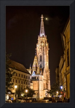St Matthias Church at Night