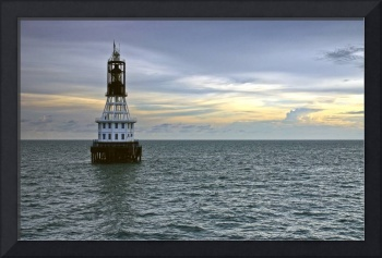 Old One Fathom Bank Lighthouse, Straits of Malacca