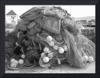 Fishing Nets, Greencastle, Donegal
