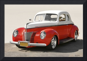 1940 Ford Deluxe Coupe '50-50 4T' I