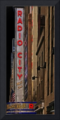 Radio City Music Hall (Dark sky)