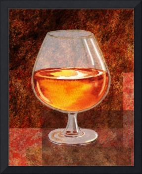 Brandy Snifter Decorative Painting