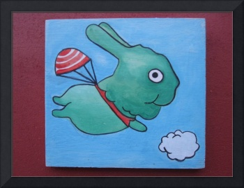 Flying rabbit 01 $15