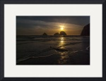 Oceanside Sunset 2 by Ken Dietz