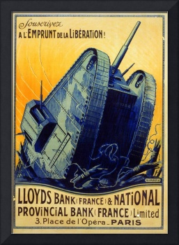 FRENCH WW 1 POSTER