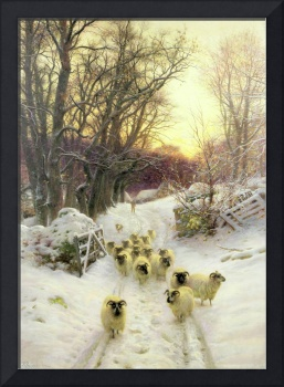 The Sun Had Closed the Winter's Day by Farquharson