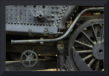 Train Wheel Detail