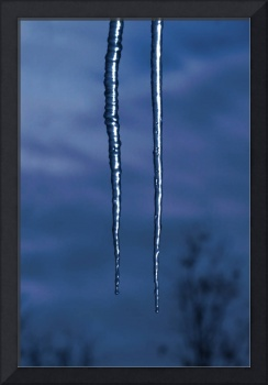 Icicles In The Moonlight
