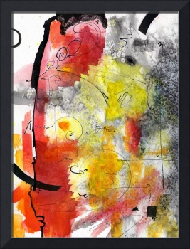 Intuitive Abstract Series 2 By Ginette
