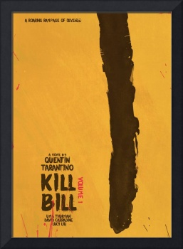 Kill Bill, Quentin Tarantino, Minimal Movie Poster