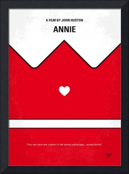 No1027 My Annie minimal movie poster