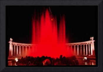 Red Waterfountain