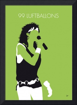 No226 MY NENA Minimal Music poster