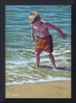 boy at bournemouth beach