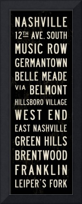 Nashville Transit Sign