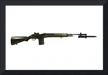 M14 rifle, developed from the M1 Garand