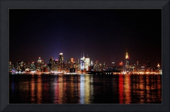 Evening Lights of New York
