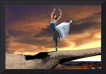 Sky Dancer Pointe (Clouds and Canyon)