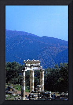 Tholos in the Shrine of Athena, Delphi, Greece