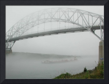 Cape Cod Canal Bridge Fog