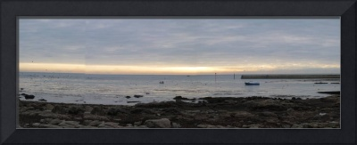 Panorama of the Ocean in Pont l'Abbe