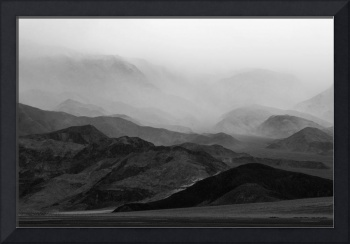 Death Valley Mountain Storm
