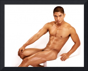 Miguel in Seated Nude 7200x300