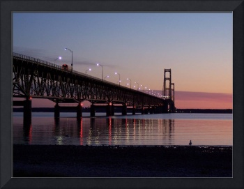 Mackinac Bridge at Dawn