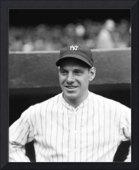 Leo Durocher with the Yankees