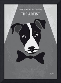 No609 My The Artist minimal movie poster