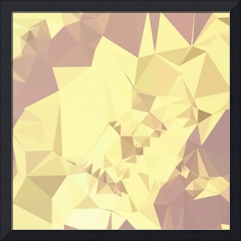 Arylide Yellow Abstract Low Polygon Background
