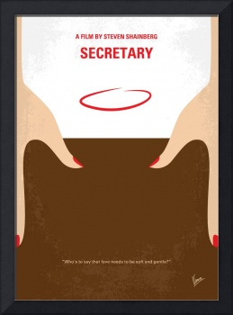 No371 My Secretary minimal movie poster