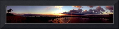 Kahana Sunset Panorama