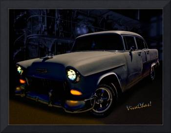 Bad 55 Chevy Rat Rod