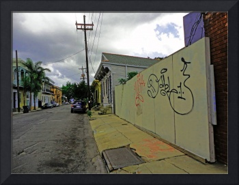 Faubourg Marigny Street Scene, New Orleans