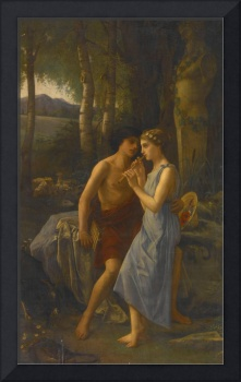 Pierre Cabanel (French, 1838-1918)~Daphnis and Chl